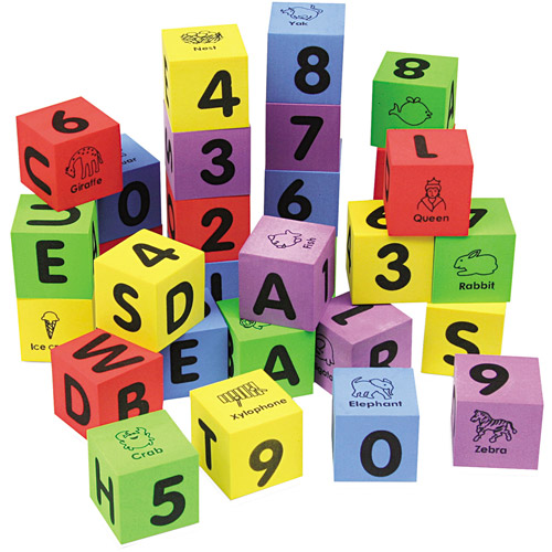 Chenille Kraft WonderFoam Learning Blocks, 30