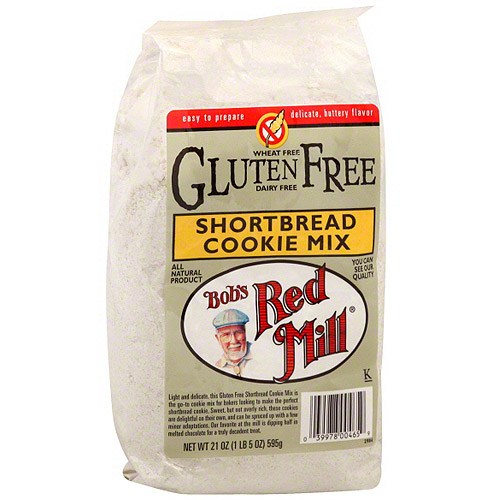 Bob's Red Mill Shortbread Cookie Mix, 21 oz (Pack of 4)