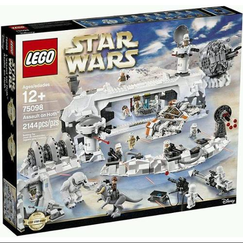 Star Wars The Empire Strikes Back Assault on Hoth Set LEGO 75098