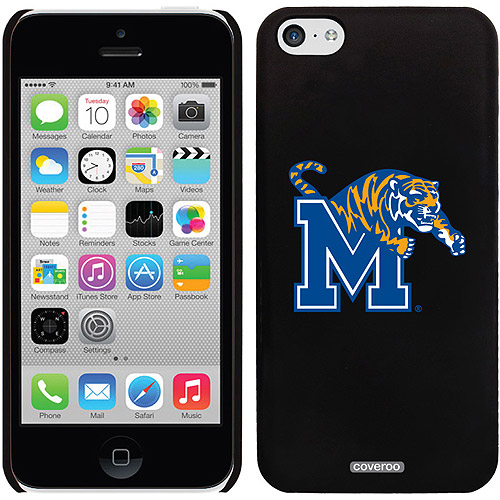 Memphis M with Mascot Design on iPhone 5c Thinshield Snap-On Case by Coveroo