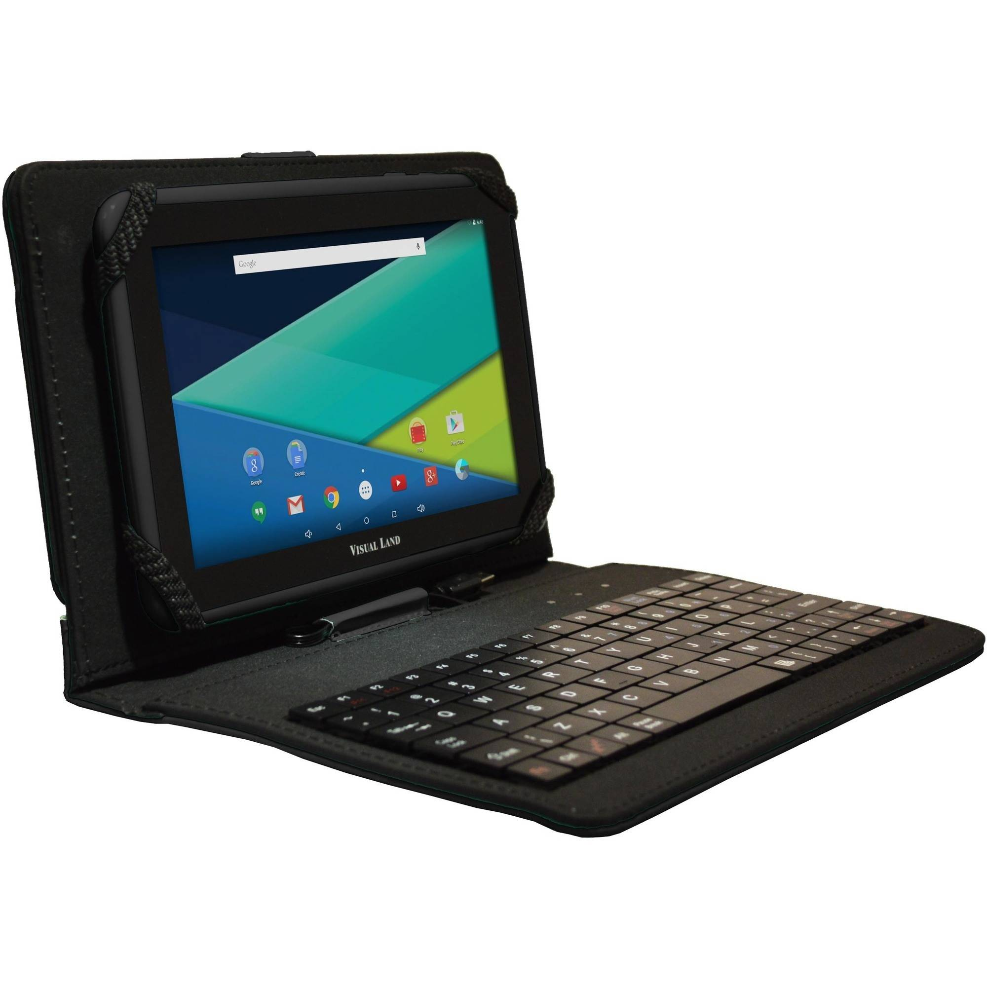 "Visual Land Prestige Elite 7"" Quad Core Tablet 8GB with Bonus Keyboard Case"
