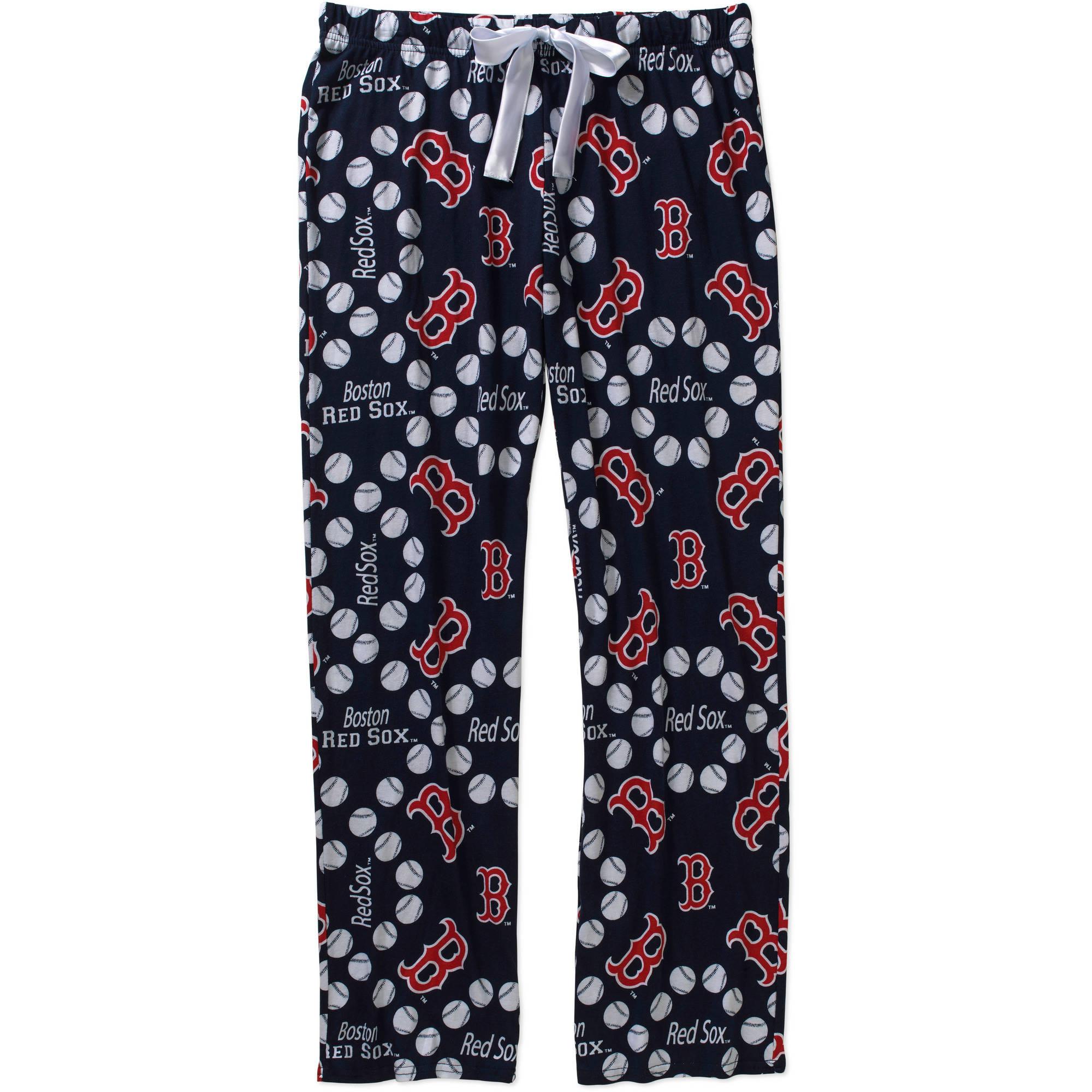 MLB Women's Boston Red Sox Knit Sleep Pants