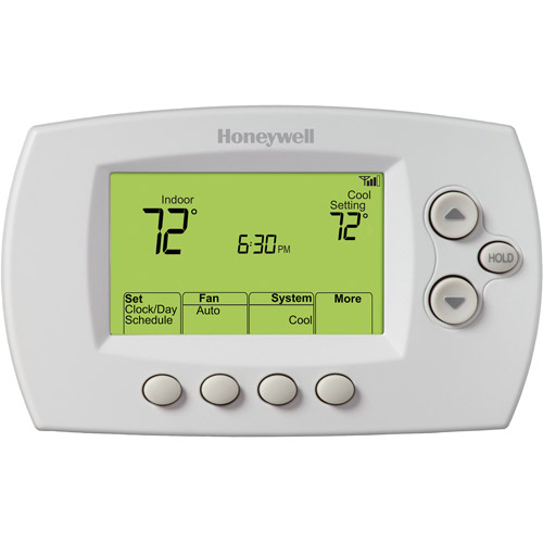 Honeywell RTH6580WF Wi-Fi 7-Day Programmable Thermostat, White
