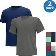 Fruit of the Loom Men's Short Sleeve Pocket Tee, 2 Pack