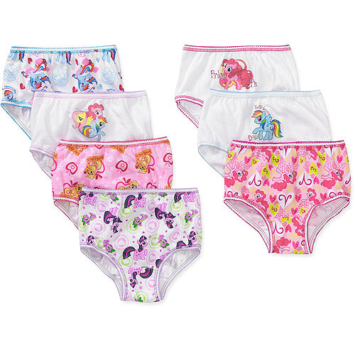 My Little Pony Toddler Girls 7 Piece Underwear Set