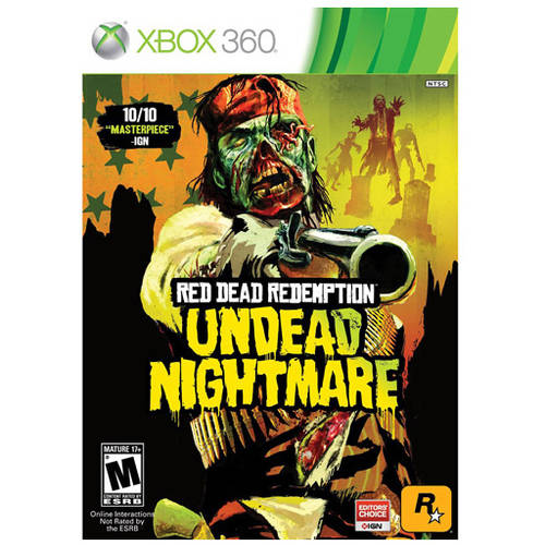 Red Dead Redemption Undead Nightmare (Xbox 360) - Pre-Owned