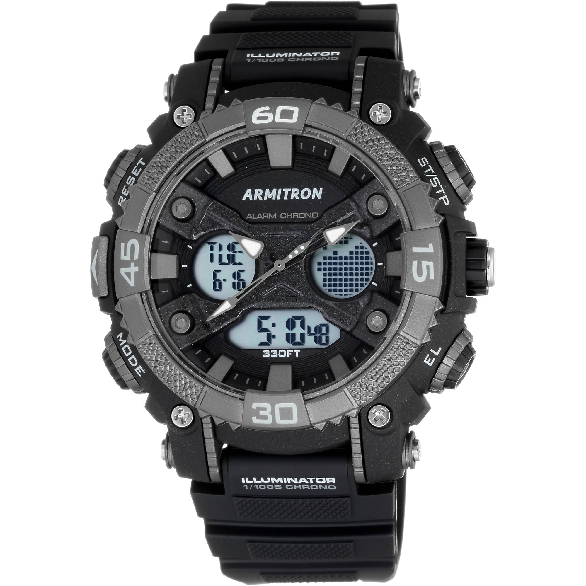 how to change the time on a armitron watch wr330