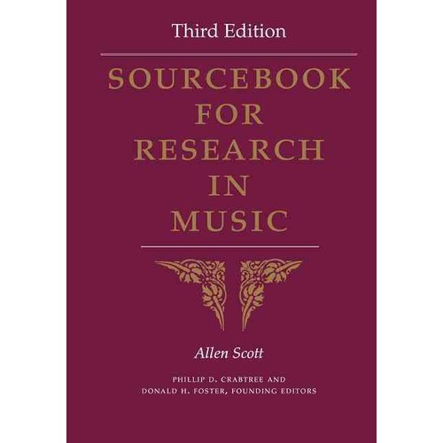 Sourcebook for Research in Music