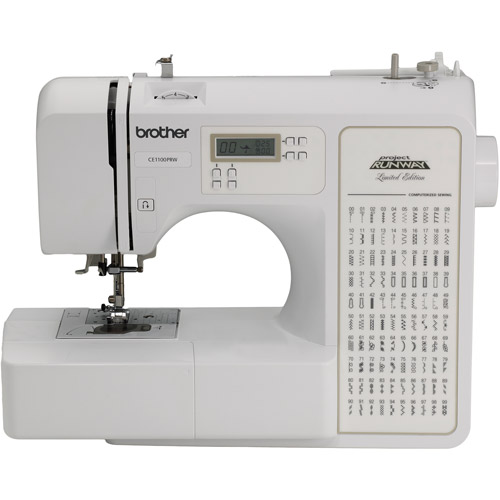 Brother 100-Stitch, RCE1100PRW Refurbished Computerized Sewing Machine