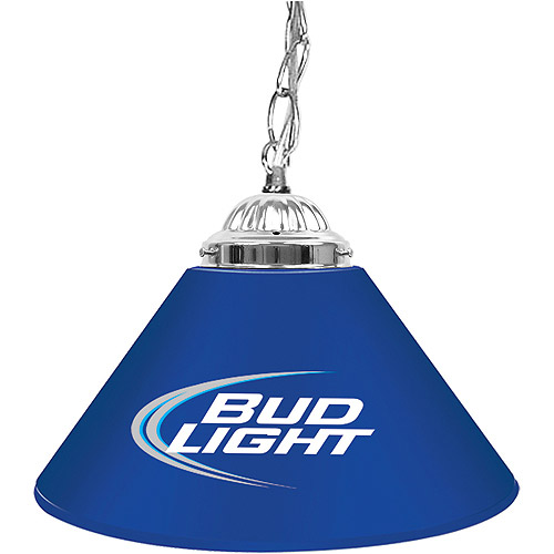 "Trademark Global Bud Light 14"" Single Shade Bar Lamp"