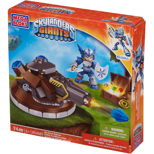 Mega Bloks Skylanders Giants Sky Turret Defense Play Set