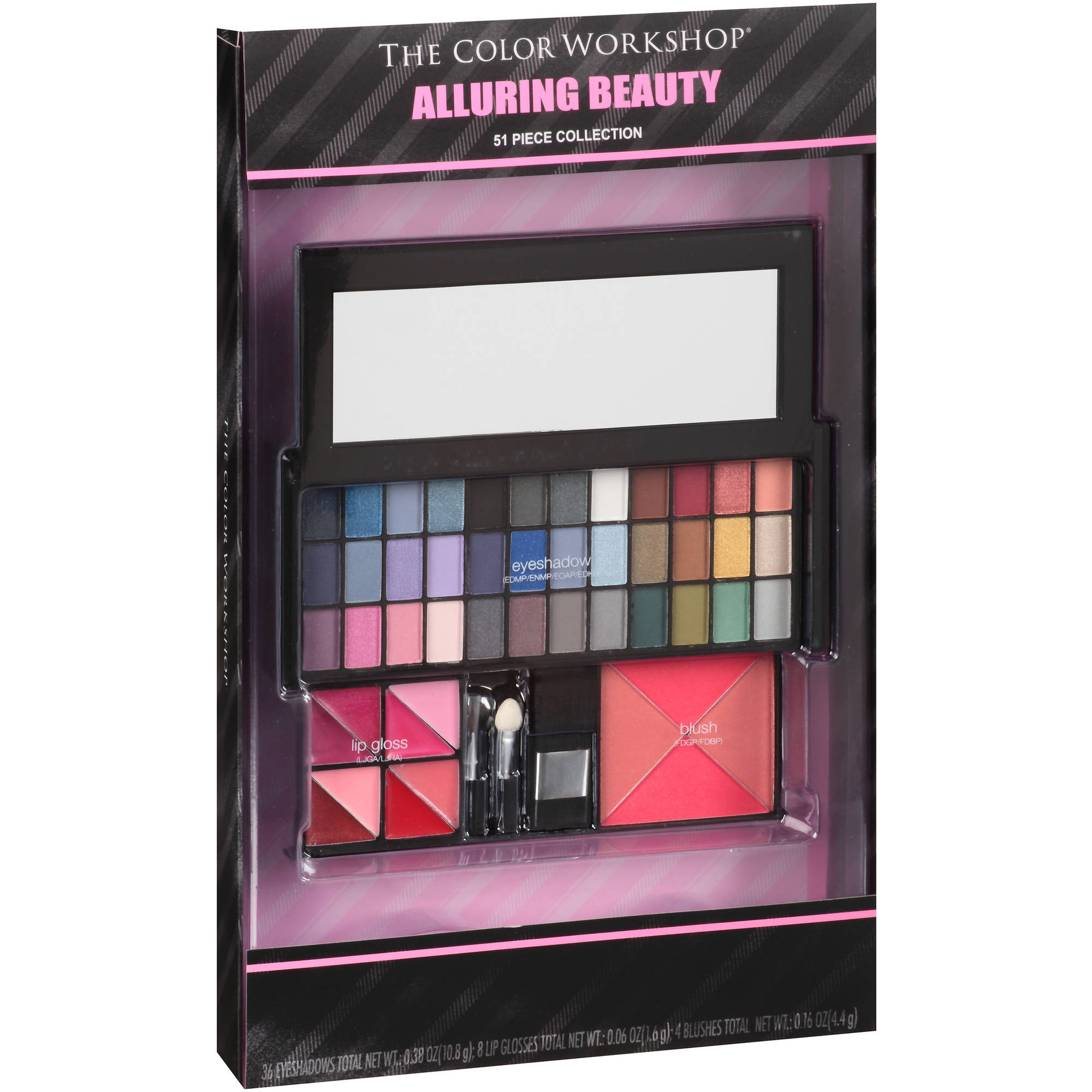 The Color Workshop Alluring Beauty Gift Set, 51 pc