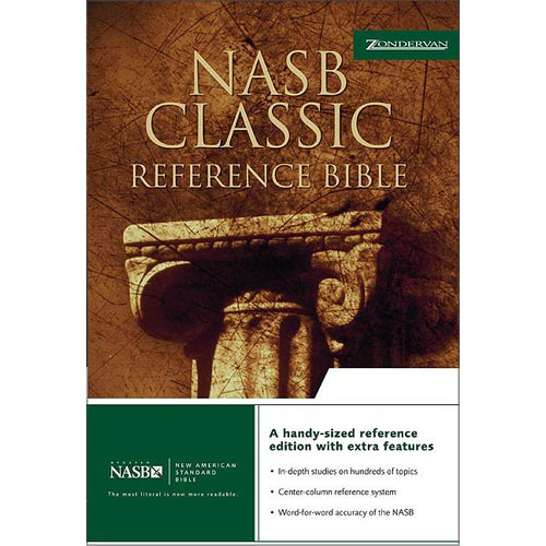 Classic Reference Bible: Nasb : Bonded Leather, Burgundy