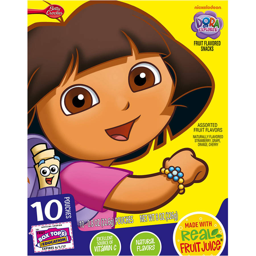 Betty Crocker? Dora and Friends? Fruit Flavored Snacks 10-0.8 oz. Pouches