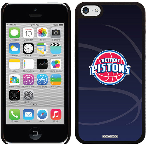 Detroit Pistons Basketball Design on iPhone 5c Thinshield Snap-On Case by Coveroo