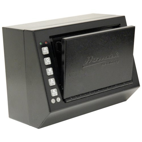 Homak Quick Access Electronic Pistol Box - Medium