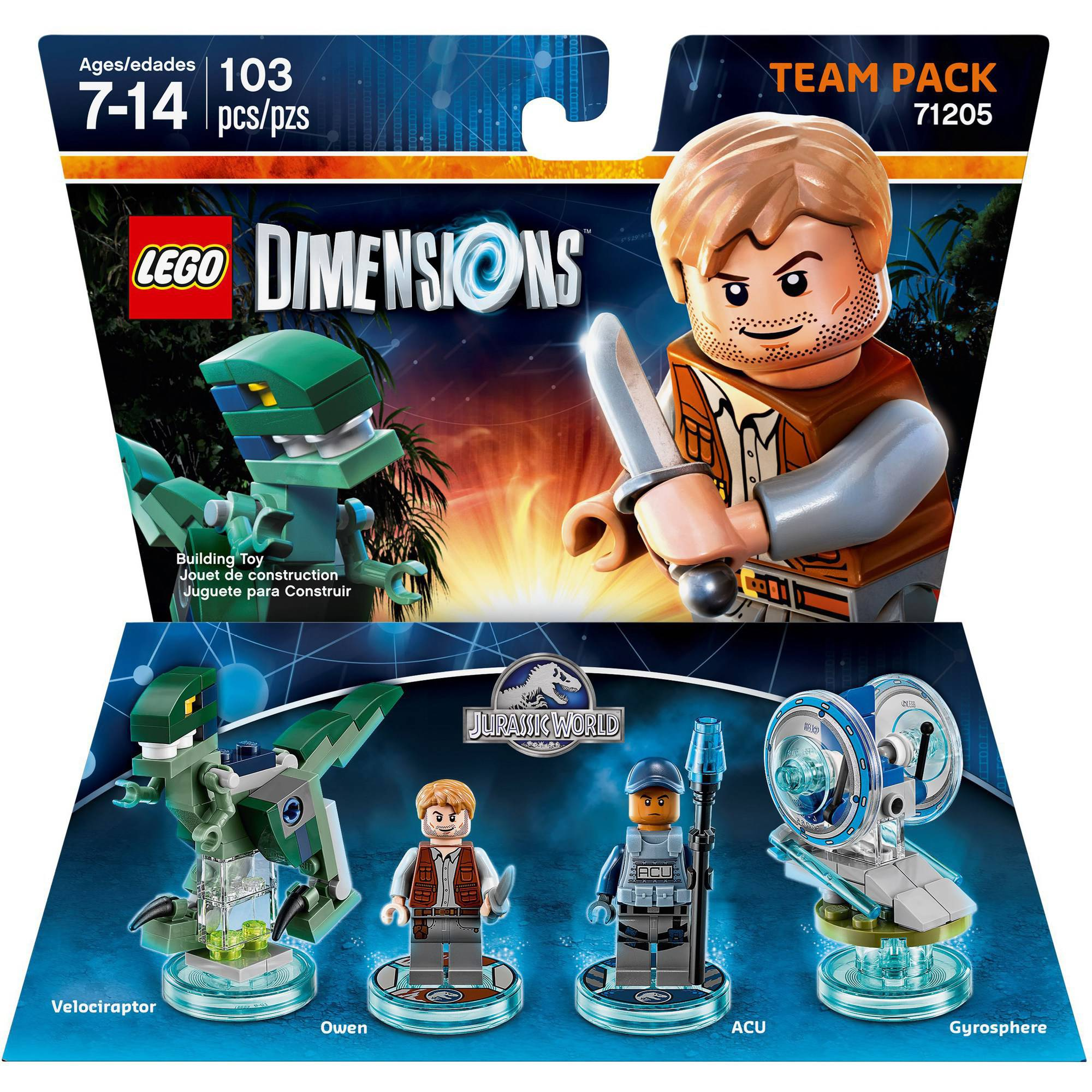 LEGO Dimensions Jurassic World Team Pack (Universal)