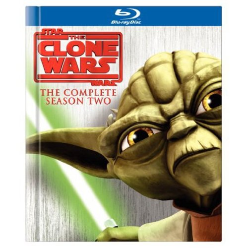 STAR WARS-CLONE WARS-SEASON 2 (BLU-RAY/4 DISC/FF-4X3/SP-FR SUB)