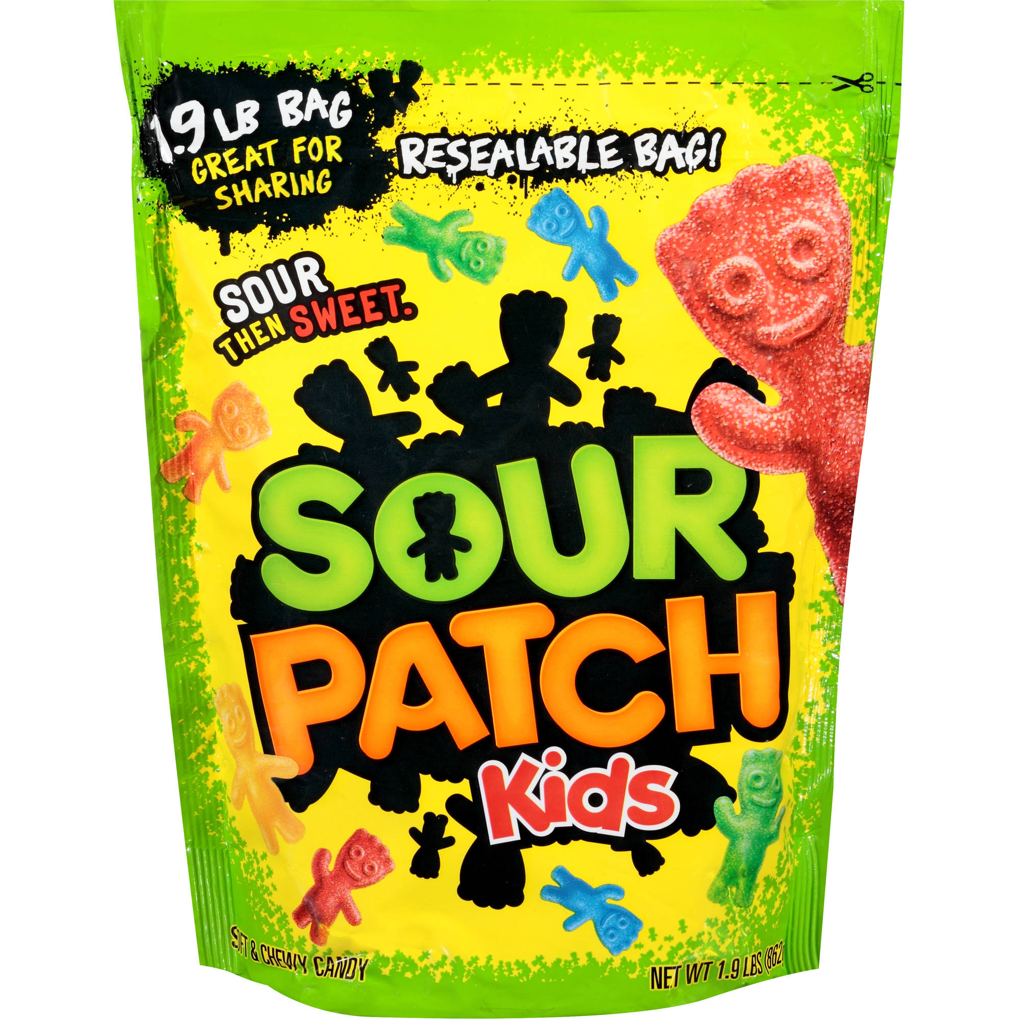 Sour Patch Kids Candy, 1.9 lbs