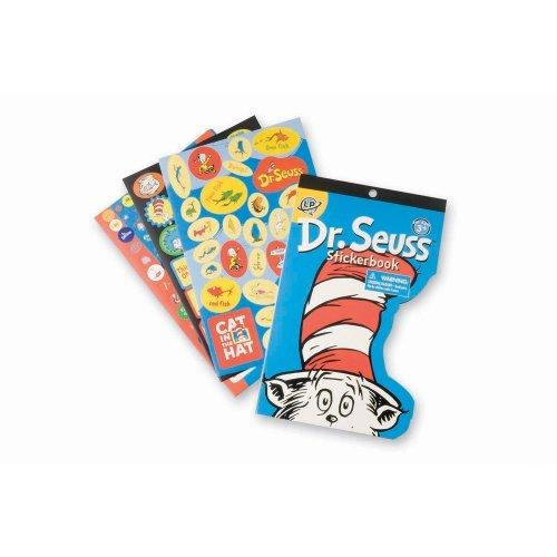 Dr. Seuss Shaped Sticker Book