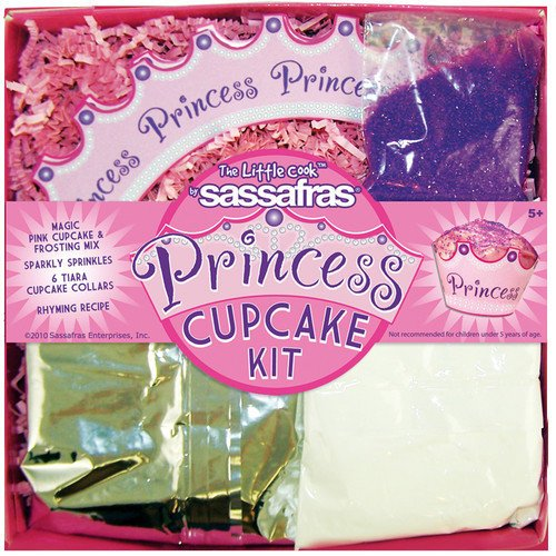 Sassafras Princess Cupcake Kit