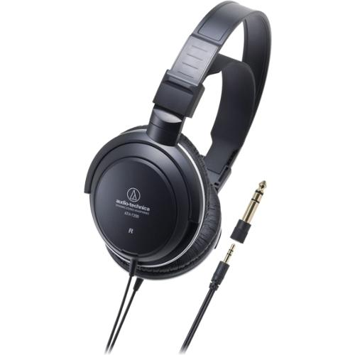 Audio-Technica ATH-T200 Headphone - Stereo - Mini-phone - Wired - 40 Ohm - 20 Hz 22 kHz - Gold Plated - Over-the-ear - B