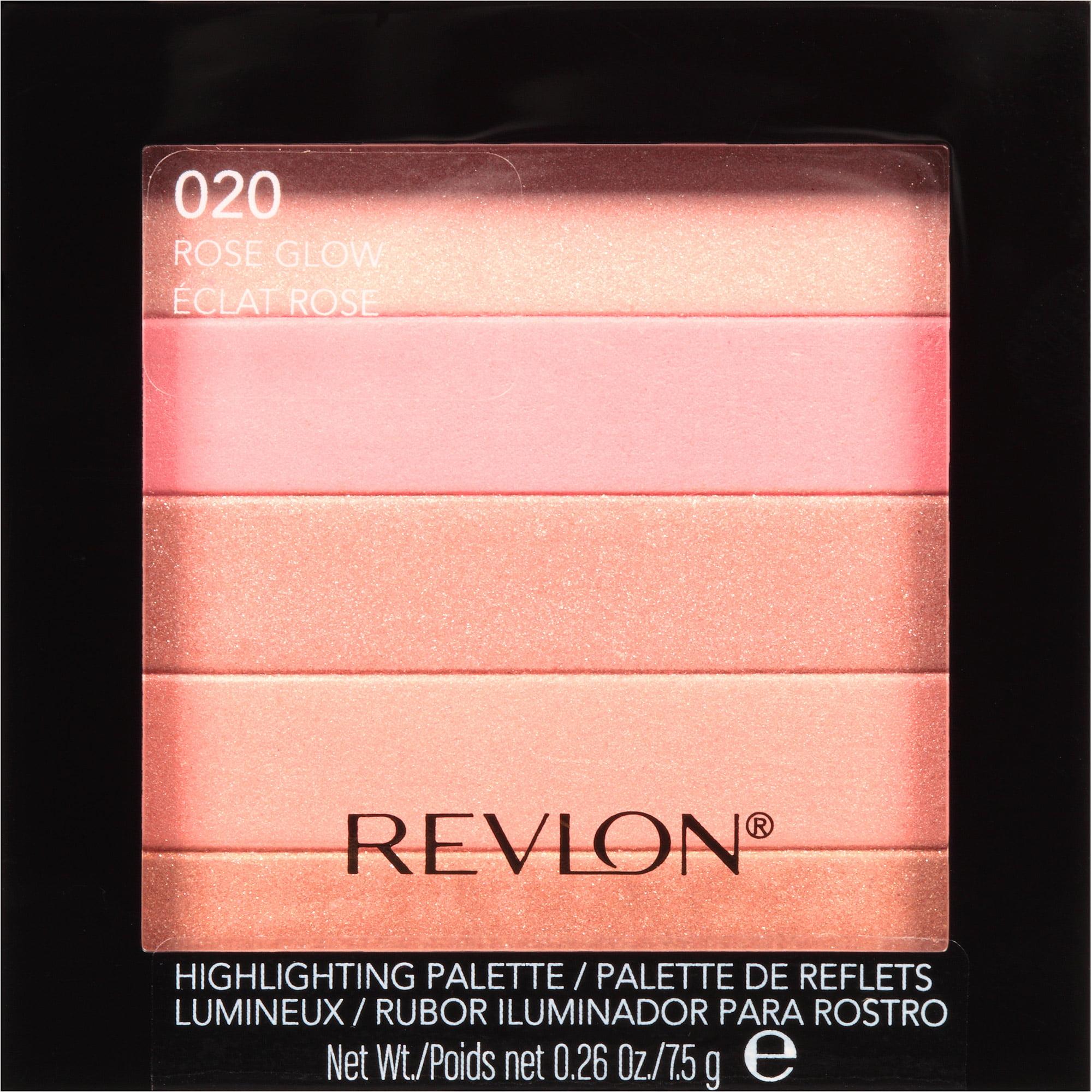 Revlon Highlighting Palette, 020 Rose Glow, 0.26 oz