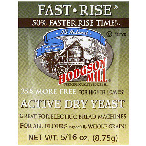 Hodgson Mill Active Dry Yeast, .3125 oz (Pack of 48)