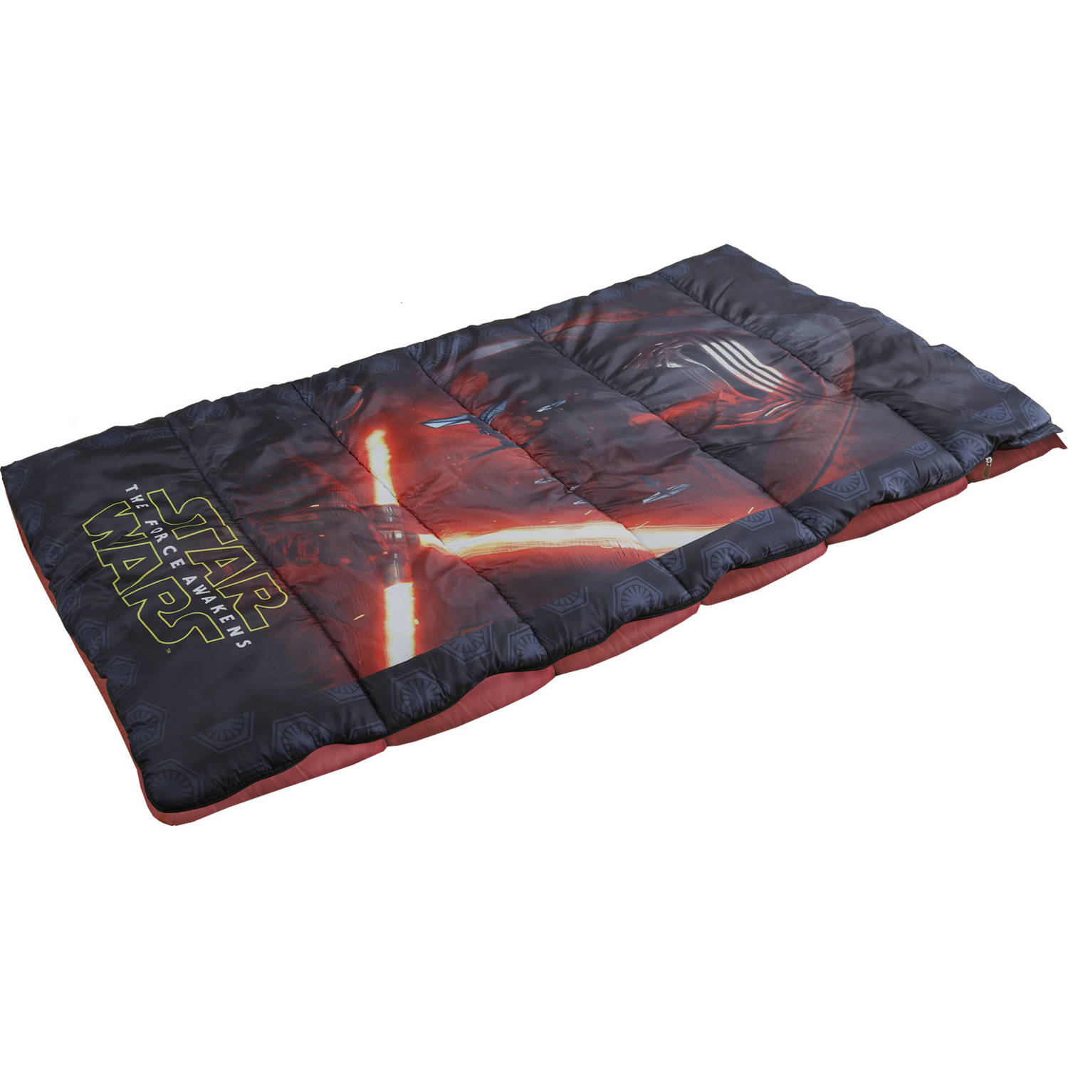 "Star Wars 28"" x 56"" Sleeping Bag with Polyester Outer Shell and Liner"