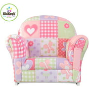 KidKraft Upholstered Rocker, Dollhouse Cottage