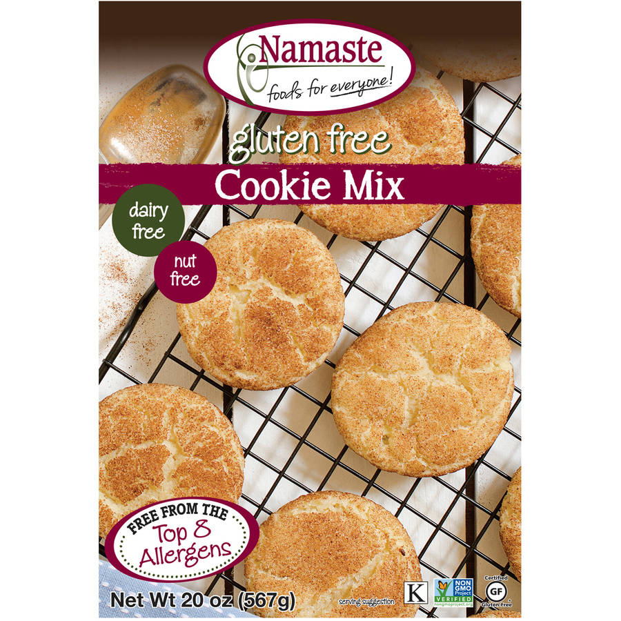 Namaste Foods Gluten Free Cookie Mix, 20 oz (Pack of 6)
