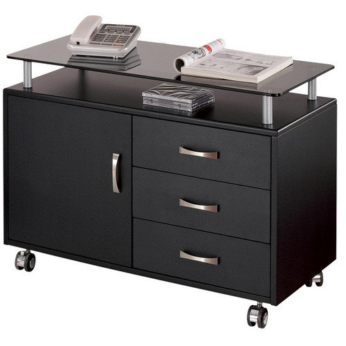 Techni Mobili 3 Drawer Mobile Seguro  File Cabinet