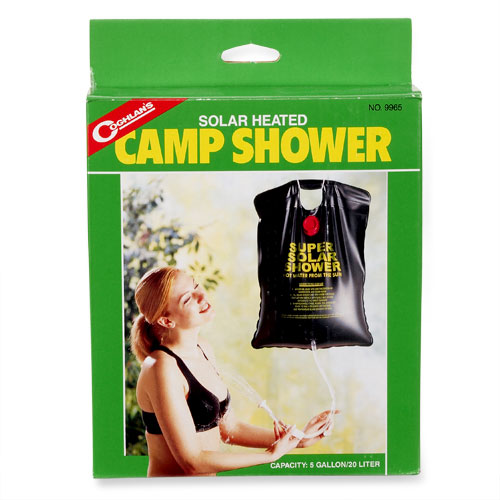 Coghlans Solar-Heated Camp Shower