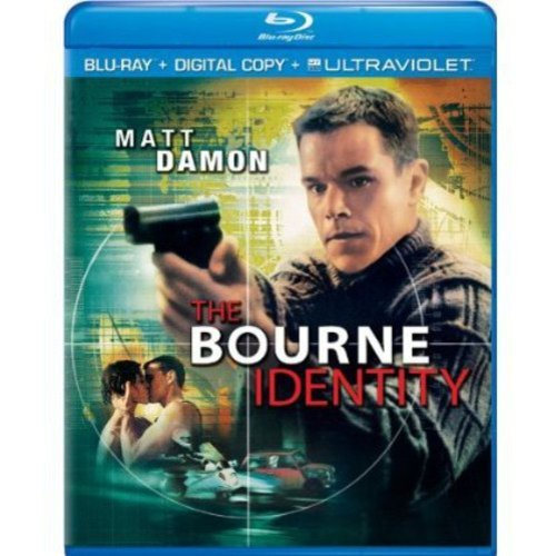 The Bourne Identity (Blu-ray + Digital Copy + UltraViolet) (With INSTAWATCH) (Widescreen)