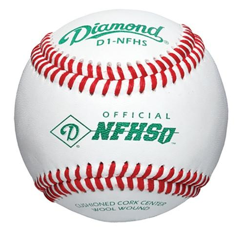 Diamond D1-NFHS Baseball Set, Official League - 12 Pcs