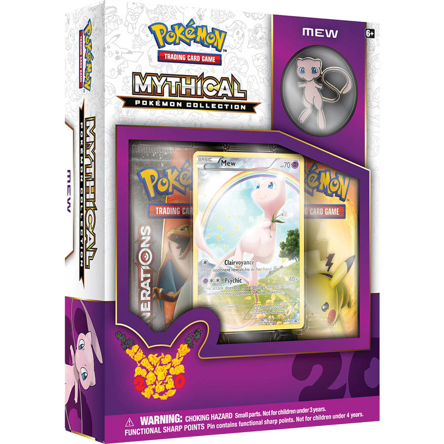 Pokemon Mythical Pin Box, Mew