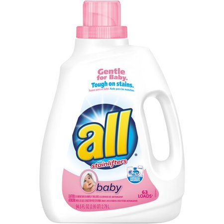 All laundry detergent for babies