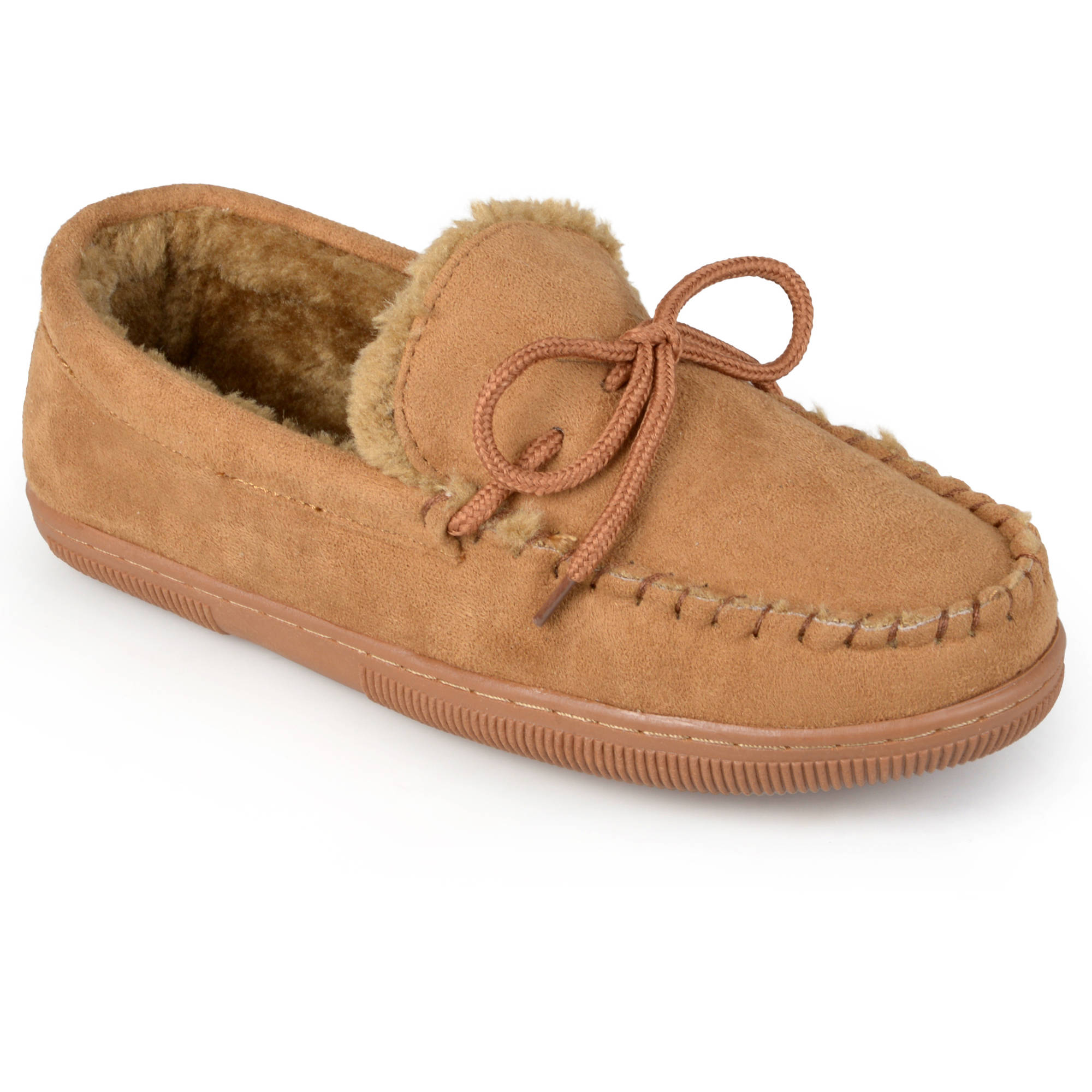 Pindari Men's Faux Suede Moccasin Slippers