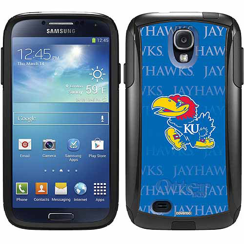 University of Kansas Repeating Design on OtterBox Commuter Series Case for Samsung Galaxy S4