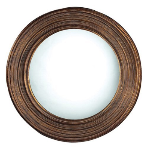 Oswego Bulford Antique Copper Mirror - 30 diam. in.