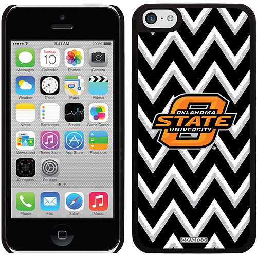 Oklahoma State Sketchy Chevron Design on iPhone 5c Thinshield Snap-On Case by Coveroo
