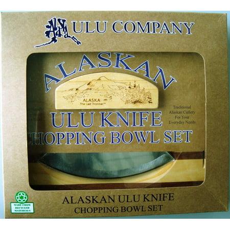 Image of Alaska Ulu/block/bowl Combo