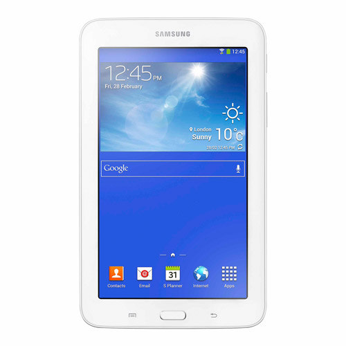 "Refurbished Samsung Galaxy Tab 3 Lite 7.0 8GB White 7"" Wi-Fi SM-T110NDWAXAR"