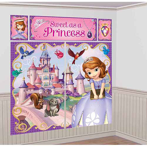Disney Sofia the First Scene Setter Kit