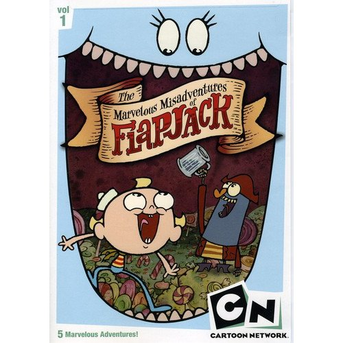 CARTOON NETWORK-MARVELOUS MIDADVENTURES OF FLAPJACK-V01 (DVD/FF-4X3)