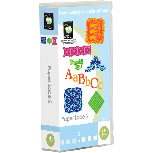 Cricut Paper Lace 2 Cartridge