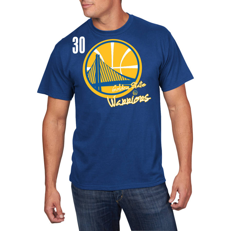 NBA Men's Golden State Warriors Short Sleeve Stephen Curry Player Tee