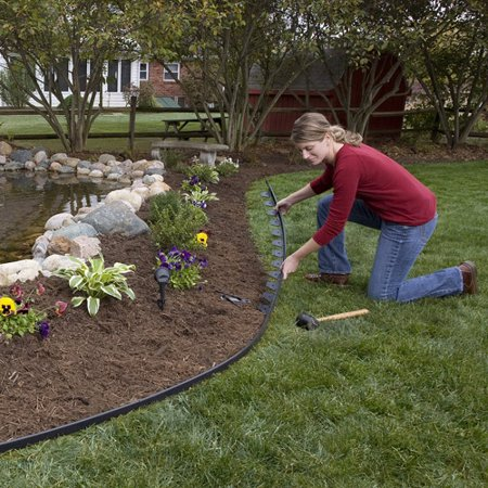 Dimex e z connect multipurpose no dig landscape and for Garden edging