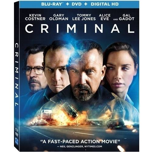 Criminal (2016) (Blu-ray + DVD + Digital HD) (With INSTAWATCH)