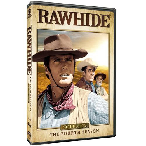 RAWHIDE-4TH SEASON V02 (DVD/4 DISCS)